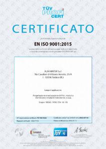 EN ISO 9001-2015 IT